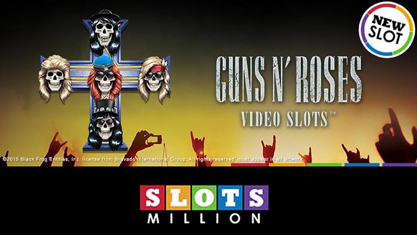 SlotsMillion Guns n Roses