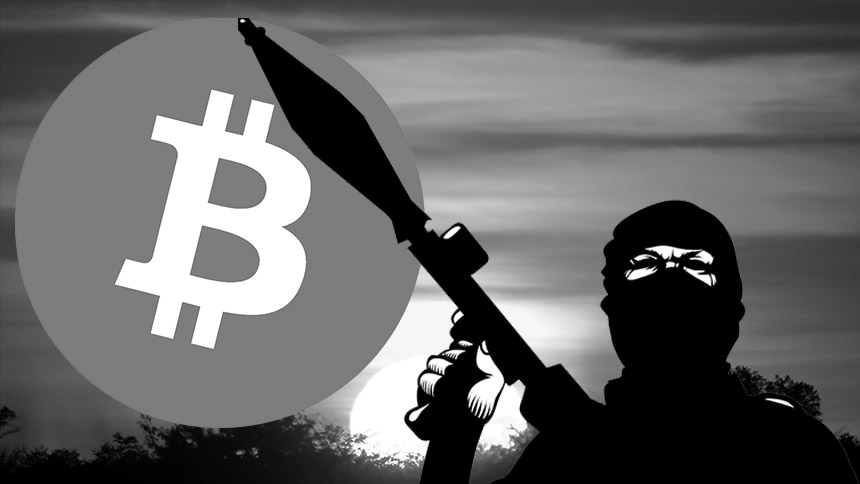Bitcoin terrorism