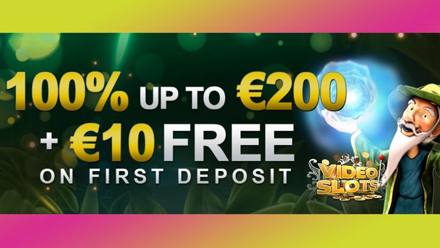 VideoSlots Deposit Bonus