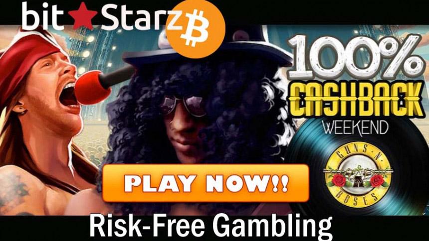 BitStarz Casino Cashback Bonus