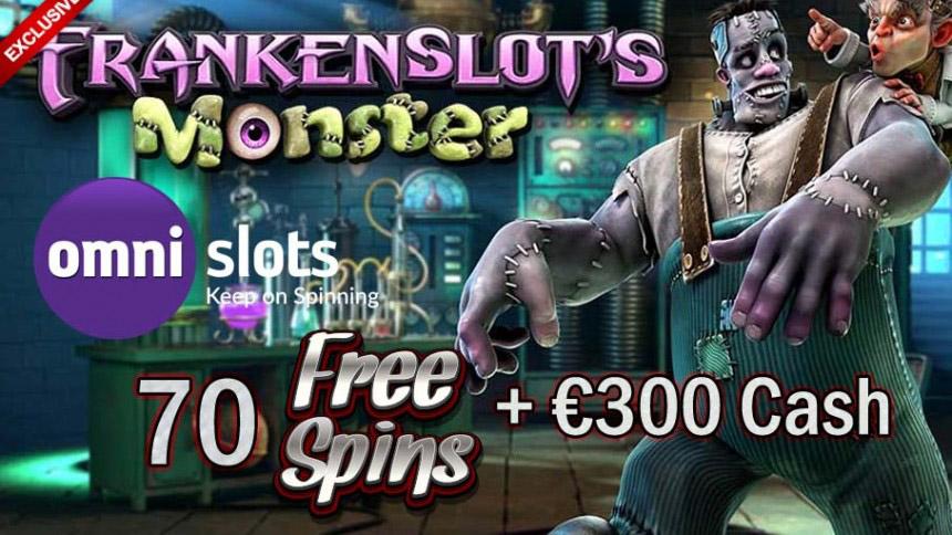 Frankenslots's Monster Free Spins