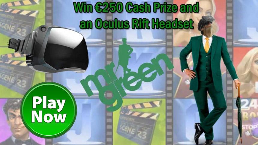Mr Green Casino Oculus Rift