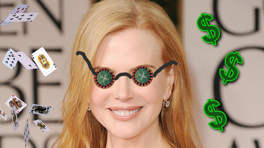 Nicole Kidman Gambles