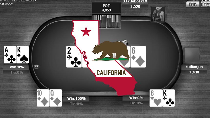 California Online Poker Bill