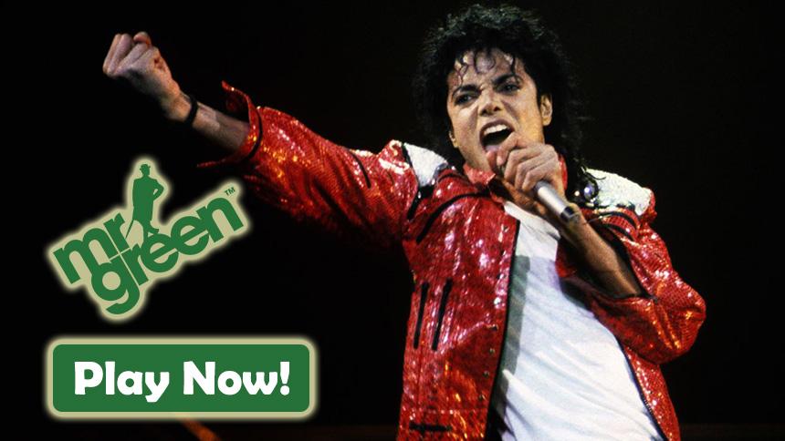 Mr Green Casino Michael Jackson