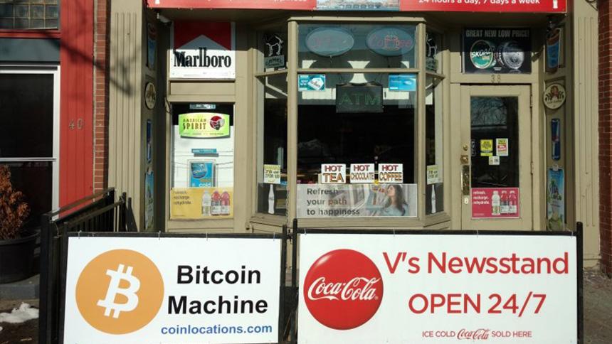 Bitcoin Newsstand