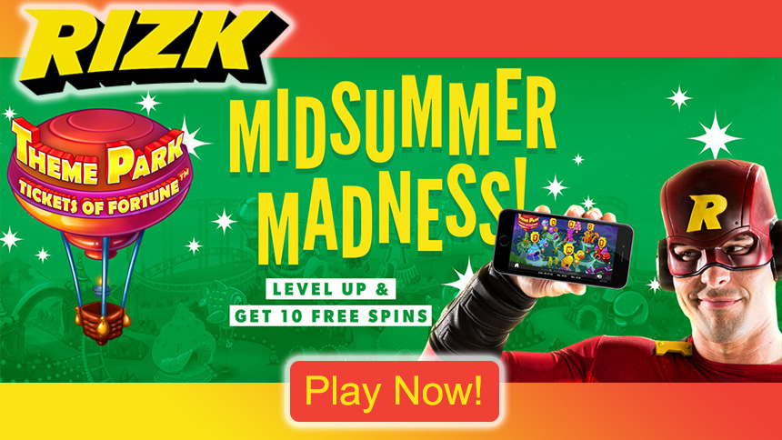 Rizk Casino Midsummer Madness