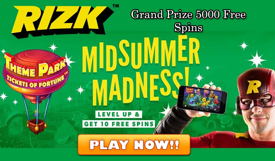 Rizk Online Casino Promotions – Go Wild Free Spins