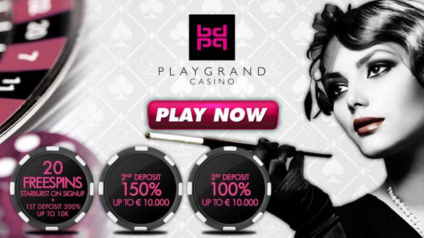 PlayGrand Casino Exclusive Bonus
