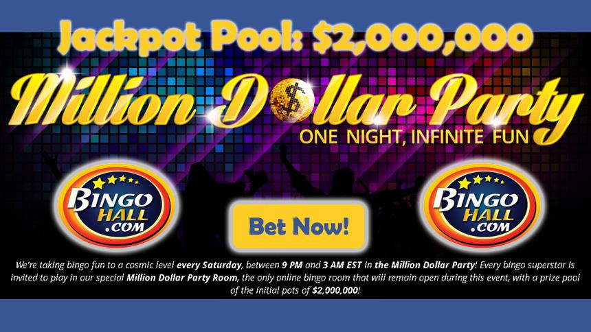 BingoHall Million Dollar Party