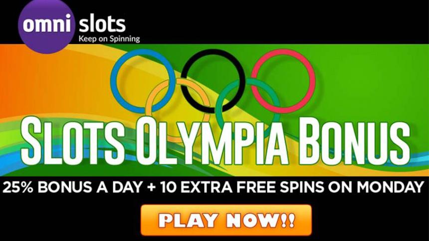 Omni Slots Olympia Bonus