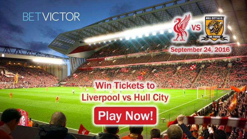 BetVictor Football Tickets