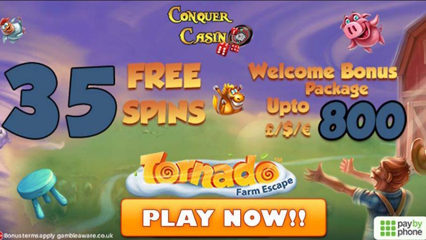 Conquer Casino Promo Codes