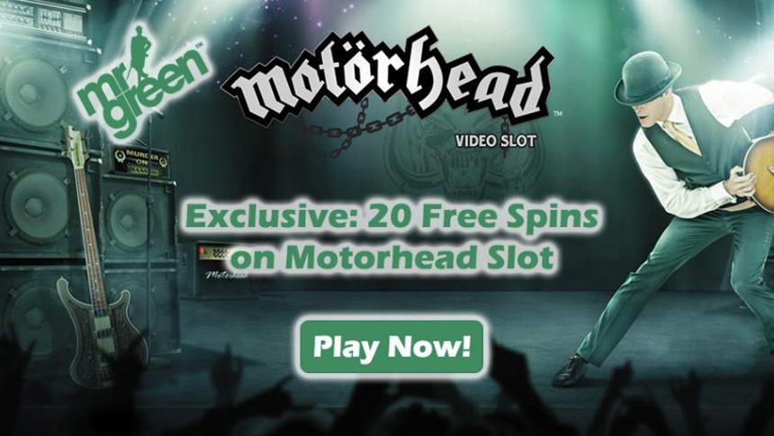 Exclusive Free Spins Motorhead