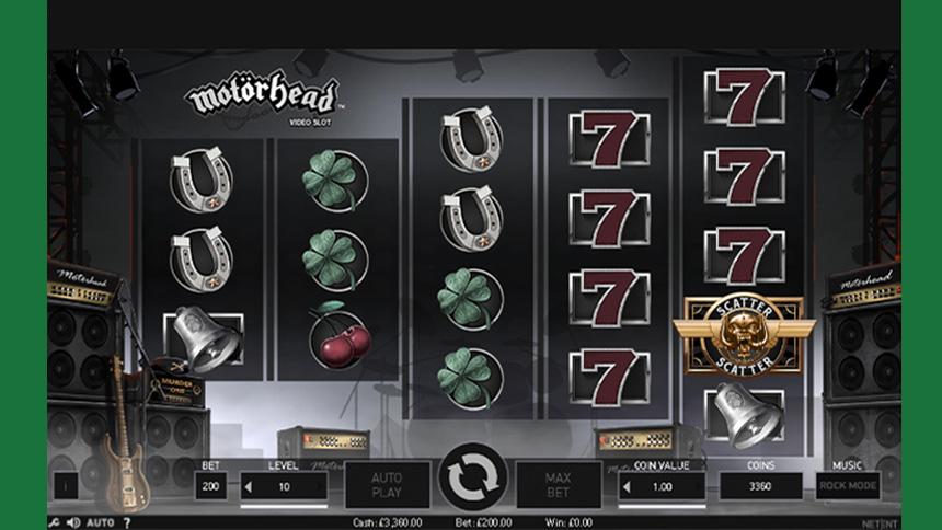 Motorhead Free Spins