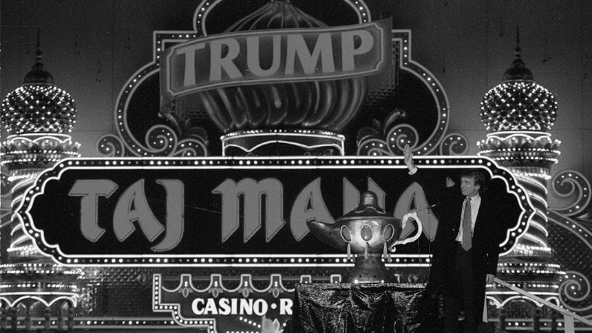 Trump Taj Mahal Closes