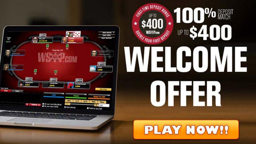 WSOP Nevada Welcome Offer
