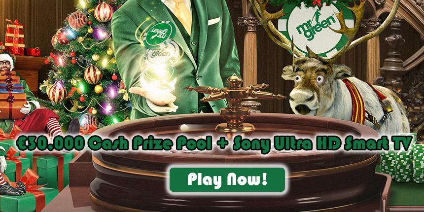 Mr Green Casino Xmas Promo