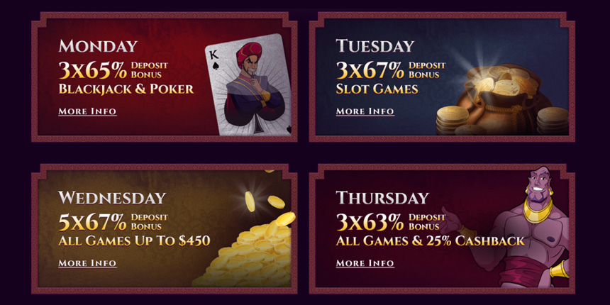 Aladdins Gold Casino Online Review With Promotions & Bonuses
