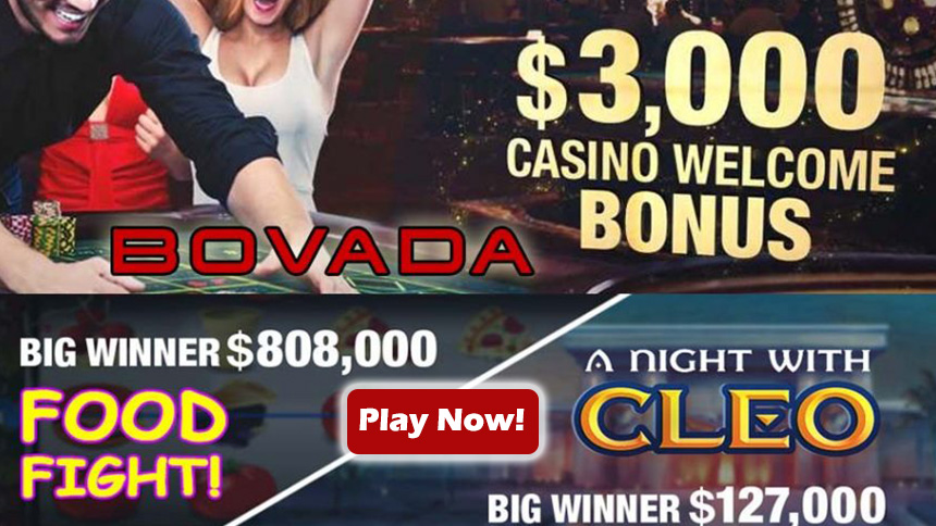 Bovada Casino Welcome Bonus