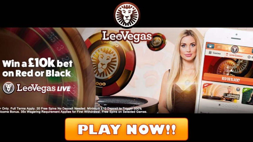LeoVegas Casino January Promotion