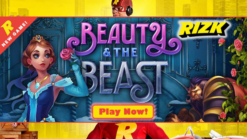 Beauty and the Beast Slot Tournament - Rizk Casino