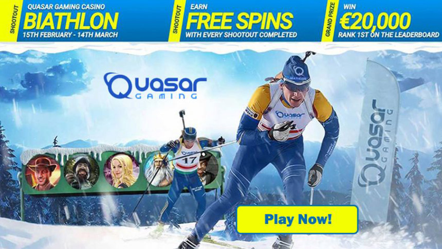 Biathlon Tournament - Quasar Gaming Casino