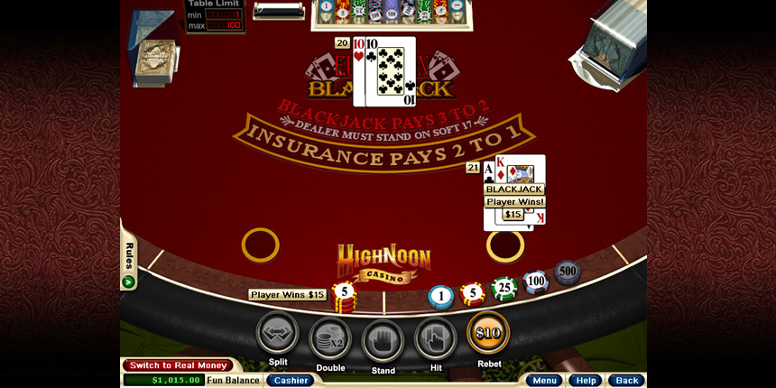 High Noon Casino Review – High Noon Online Casino