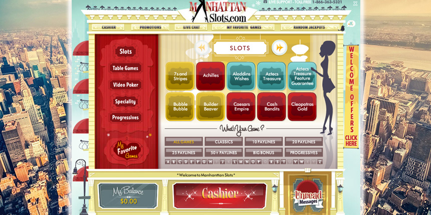 manhattan slots online casino
