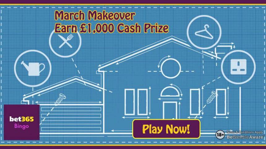 Bet365 Bingo March Makeover