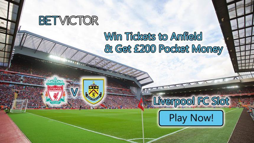 BetVictor Casino Liverpool v Burnley
