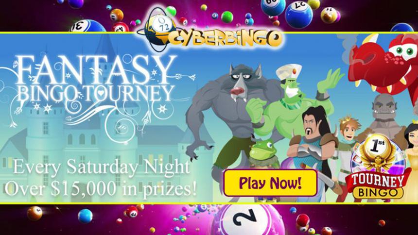 CyberBingo Fantasy Bingo Tourney