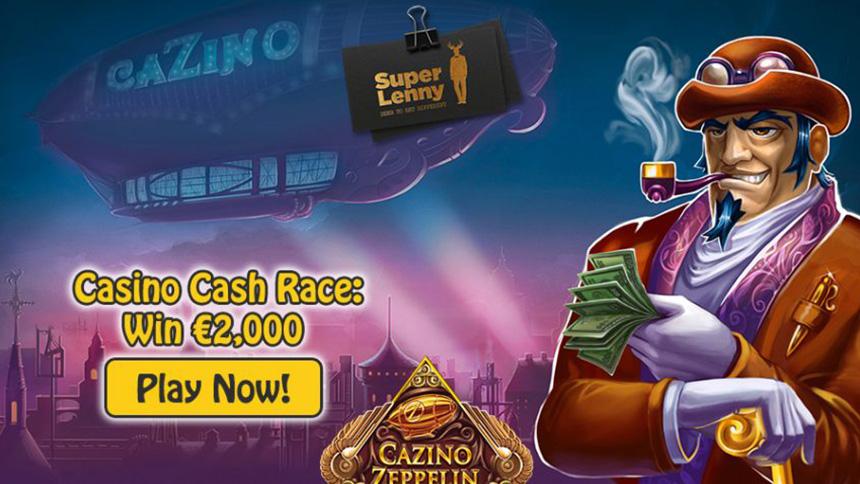 SuperLenny Casino Cash Race (Cazino Zeppelin)