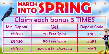 Spring Bonuses