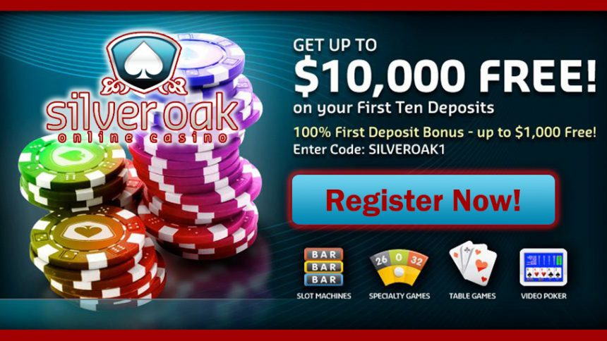 Silveroak casino reviews casino no deposit bonus codes 2015